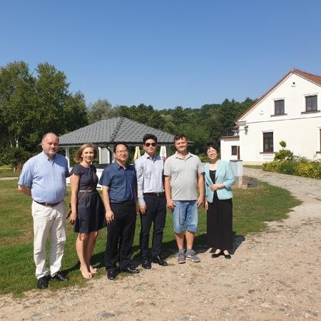 Chińska delegacja w powiecie_1