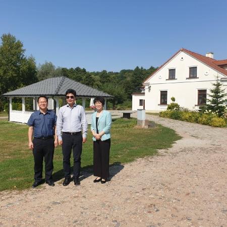 Chińska delegacja z wizytą w powiecie płockim