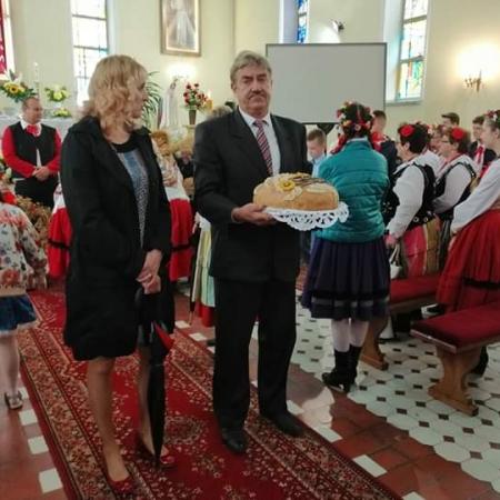 Podziękowania dla  rolników czyli Dożynkowe Święta w Powiecie Płockim