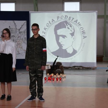 Dzień Patrona w Szkole Podstawowej im. Krzysztofa Kamila Baczyńskiego w Wyszogrodzie