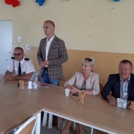 Kolejne wsparcie Powiatu dla jednostek OSP. Tym razem Radzanowo, Woźniki oraz Szczytno.
