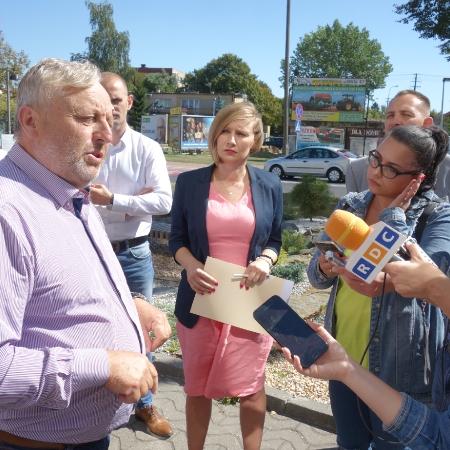 Konferencja prasowa w płockim Starostwie. Temat – ASF