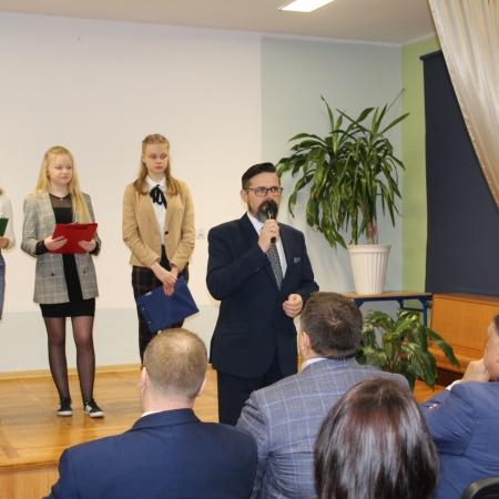 Lekcja o Mazowszu z udziałem Marszałka Województwa Mazowieckiego