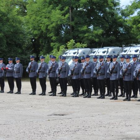Obchody 100-lecia Polskiej Policji Państwowej w Samodzielnym Pododdziale Prewencji Policji w Płocku