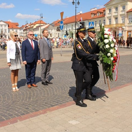 Obchody Święta Wojska Polskiego w Płocku