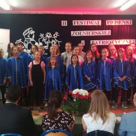 Powiatowy Festiwal Piosenki Żołnierskiej i Patriotycznej w Nowym Miszewie