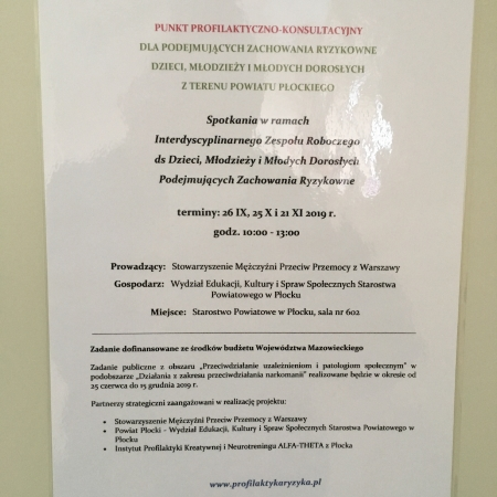 Spotkania w ramach Interdyscyplinarnego Zespołu Roboczego